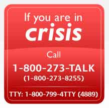 If you are in Crisis
